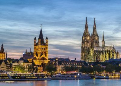 Sehenswürdigkeiten Skyline Köln